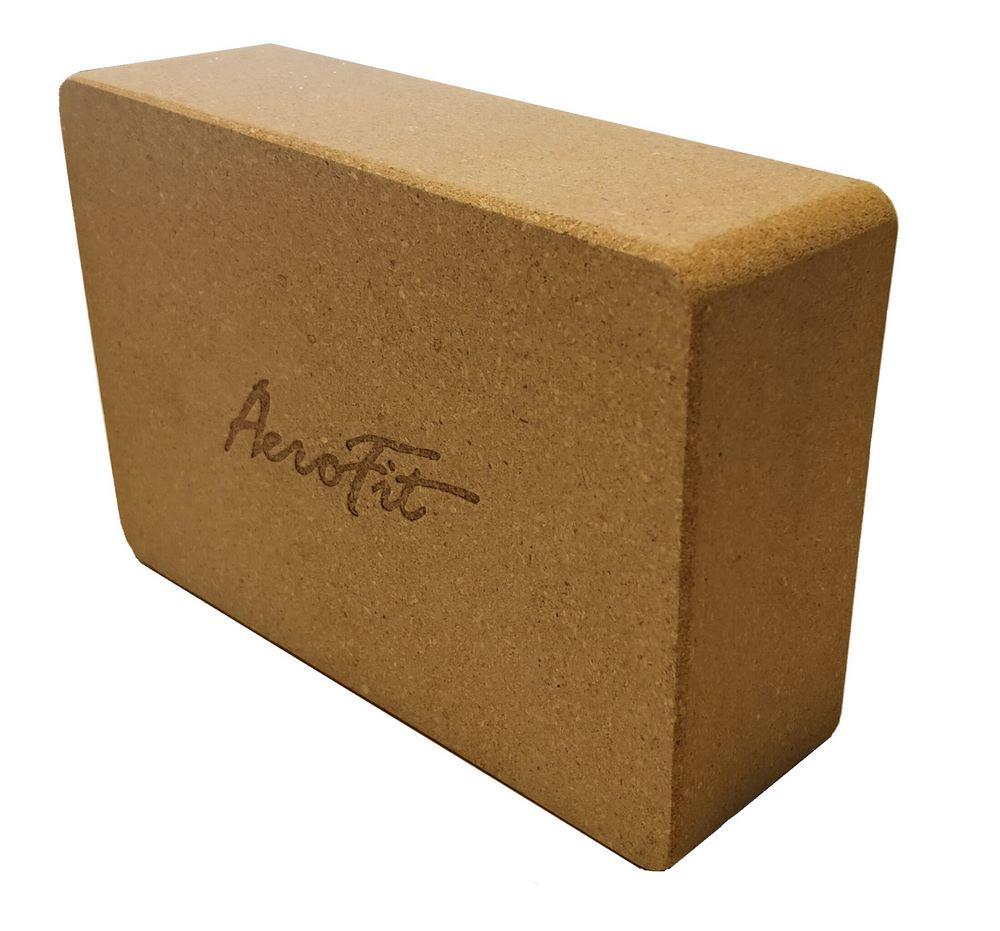 AFBLO2 Блок для йоги пробковый