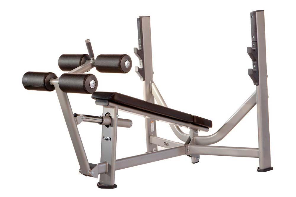 Е36 Олимпийская скамья с отрицательным наклоном