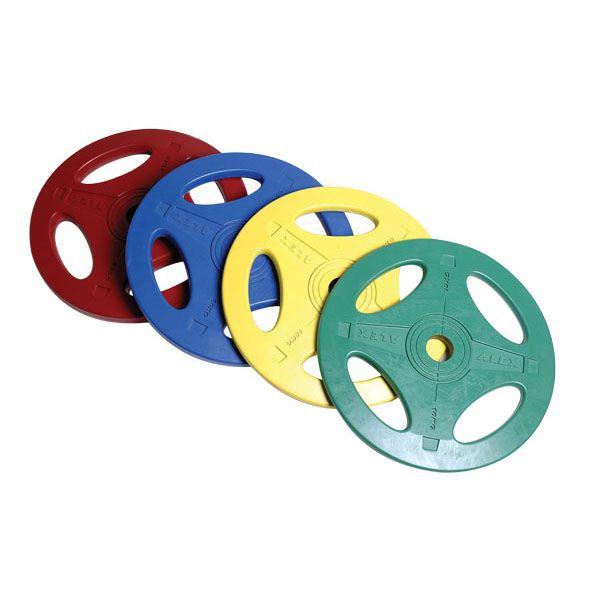 P-RO 1.25-25KG Олимпийские обрезиненные диски, серия ALEX