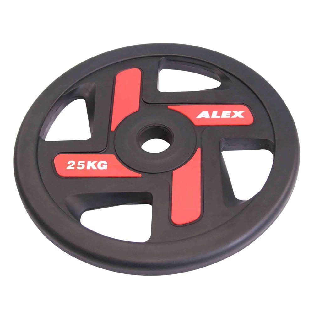 P-TPU 1.25-25KG Полиуретановые диски, серия ALEX