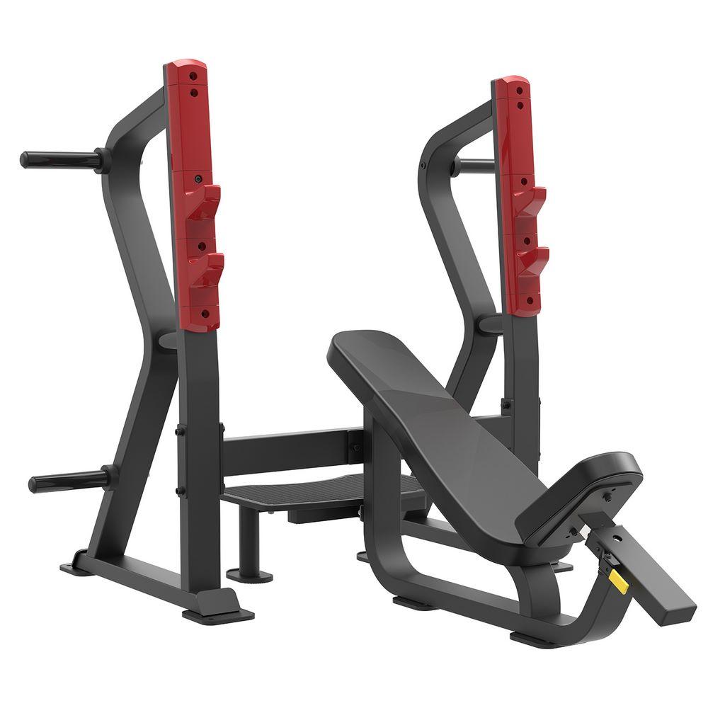 SL7029 - Олимпийская скамья с положительным наклоном для жима