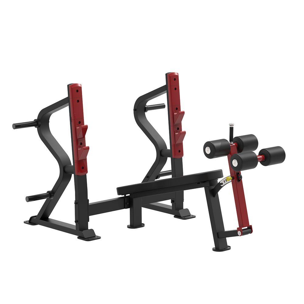 SL7030 - Олимпийская скамья с отрицательным наклоном для жима