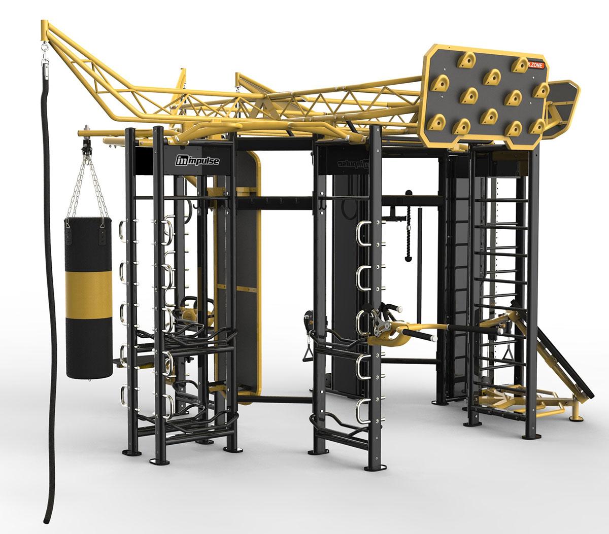 Профессиональный комплекс для функциональных тренировок X-ZONE